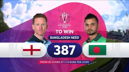 CWC19: ENG v BAN - Match highlights