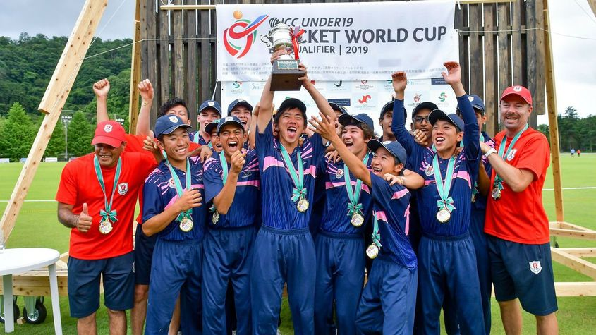 Japan Qualify For Icc U19 Cricket World Cup 2020 For The