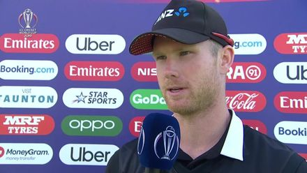 CWC19: AFG v NZ - Neesham: 'I just tried to hit the deck as hard as possible'