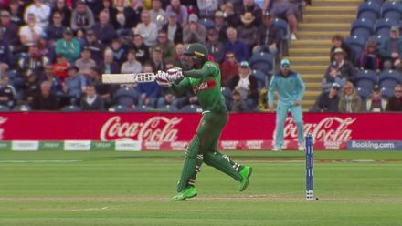CWC19: ENG v BAN - Archer's catch in slow motion