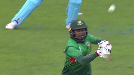 CWC19: ENG v BAN - Mosaddek caught in the deep
