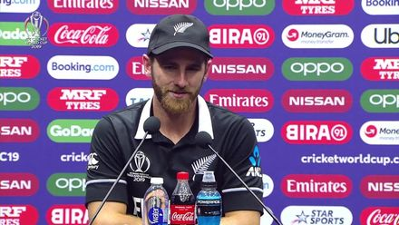 CWC19: AFG v NZ - Williamson press conference