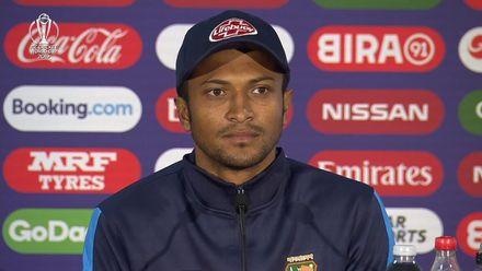 CWC19: ENG v BAN - Shakib: 'England played brilliantly'