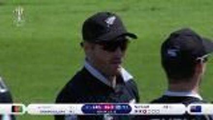 CWC19: AFG v NZ - Neesham dismisses Rahmat for 0