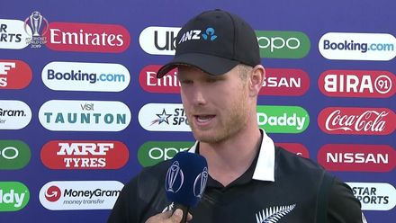 CWC19: AFG v NZ - Player of the match Jimmy Neesham