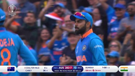 CWC 19: IND v AUS – Bumrah bowling highlights