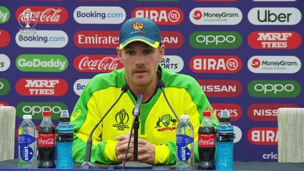 CWC 19: IND v AUS – Finch post-match conference