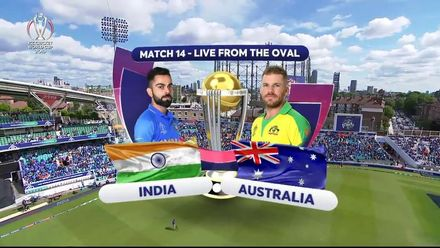 CWC19: IND v AUS - Match highlights