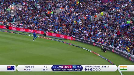 ICC19: IND v AUS - Alex Carey's unbeaten 55 highlights