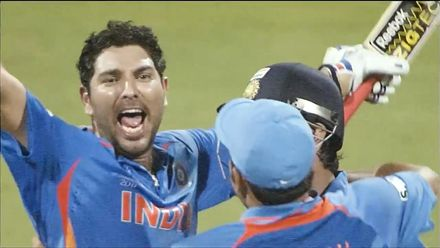 Thanks for the memories Yuvraj