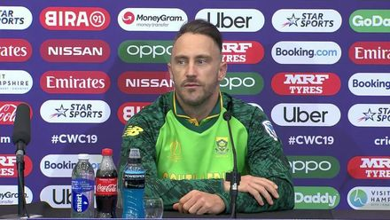 CWC19: SA v WI - Faf du Plessis post-match interview