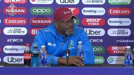 CWC19: SA v WI - Floyd Reifer post-match interview