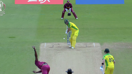 CWC 19: AUS v WI –Highlights of Nathan Coulter-Nile's brilliant 92