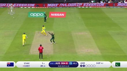 CWC19: Aus v Pak - Uber Best Deliveries