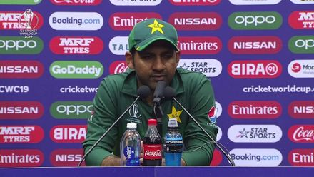 CWC19: Aus v Pak - Sarfaraz Ahmed speaks