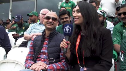 CWC19: AUS v PAK – 'This was the Amir we used to know,' passionate fan tells Zainab