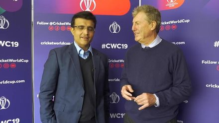Ganguly relives glory days with 'favourite coach' Wright