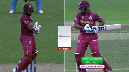 CWC19: ENG v WI - Pooran is given out after England review