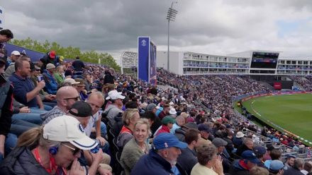 CWC19: ENG v WI - Elma has been speaking to members of the Barmy Army