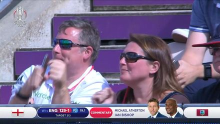 CWC19: ENG v WI - Fans dancing