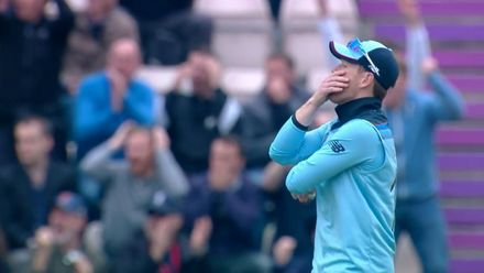 CWC19: ENG v WI - Reaction to Wood's drop