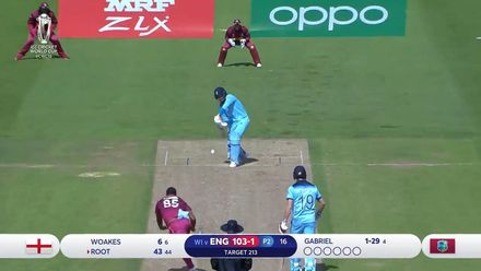 CWC19: ENG v WI - Highlights of Root's 100*