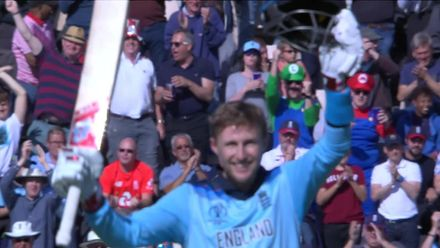 CWC19: ENG v WI - Root century celebration