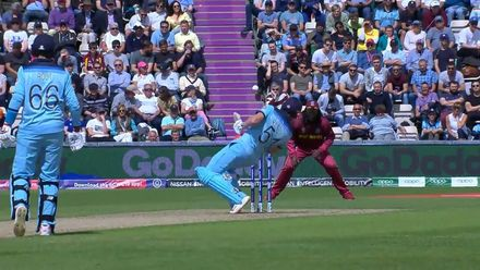 CWC19: ENG v WI - Bairstow is struck in the helmet