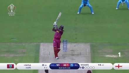 CWC19: ENG v WI - Bira91 Super Sixes