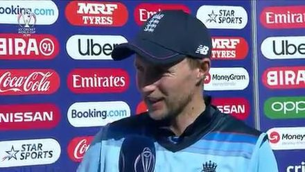 CWC19: ENG v WI - Player of the Match, Joe Root