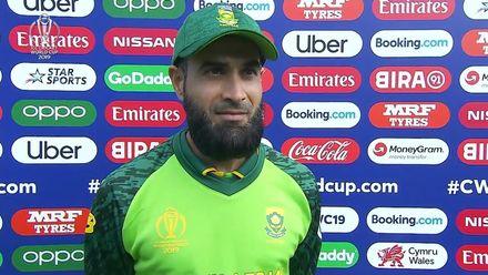 CWC19: SA v AFG - Imran Tahir interview