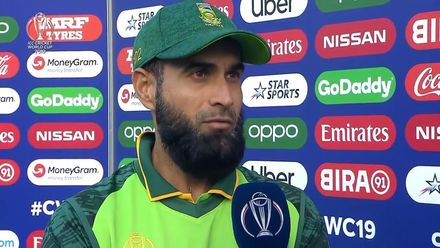 CWC19: SA v AFG - Player of the match interview: Imran Tahir