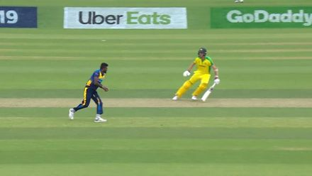 CWC19: SL v AUS - Two wickets and two run outs for Isuru Udana