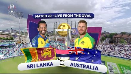 CWC19: SL v AUS -  Australia post 334/7 innings highlights