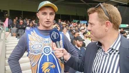 CWC19: SL v AUS - Niall talks to the fans