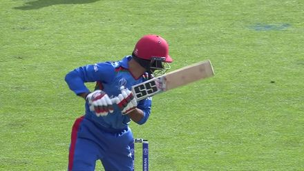 CWC19: SA v AFG - Comfortable slip catch from Amla gets Morris second wicket