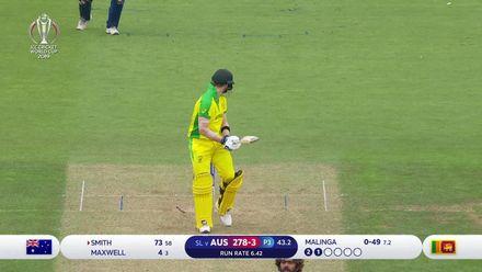 CWC19: SL v AUS - How the Australian wickets fell