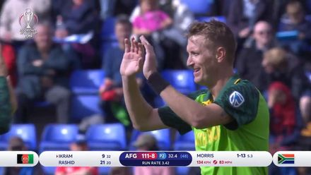 CWC19: Chris Morris bowling highlights