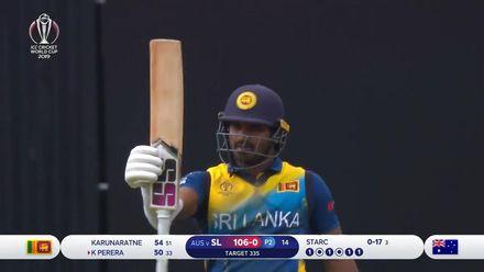 CWC19: SL v AUS - Kusal Perera batting highlights