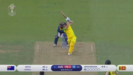 Nissan POTD: Finch gets to his ton with a six
