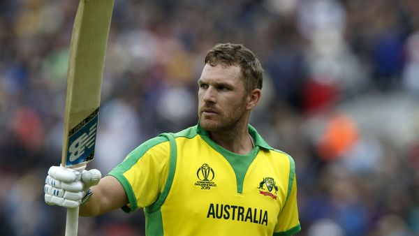 Aaron Finch hundred takes Australia to the top