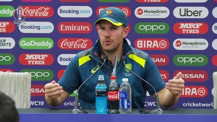 CWC19: SL v AUS - Aaron Finch press conference