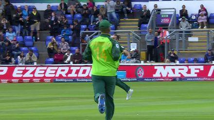CWC19: SA v AFG - Imran Tahir bowling highlights