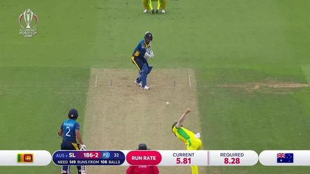 CWC19: SL v AUS - Sri Lanka innings highlights