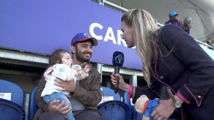 CWC19: SA v AFG - Elma has the perfect gift for upset baby