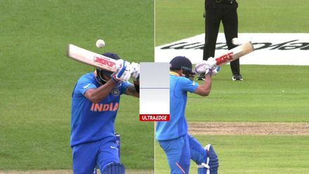 CWC19: IND v PAK - Kohli dismissal Ultra Edge reveals no edge