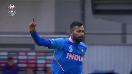 CWC19: IND v PAK - India were on top for overs 21-30