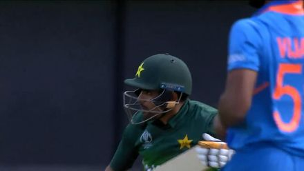 CWC19: IND v PAK - Highlights of Babar Azam's 48