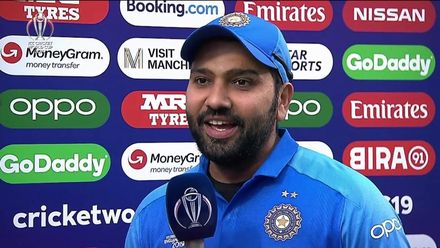 CWC19: IND v PAK - Player of the match, Rohit Sharma