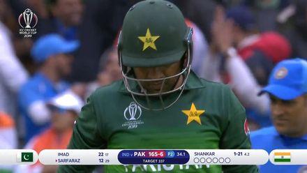 CWC19: IND v PAK - Pakistan's wickets